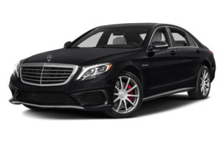 3/4 Front Glamour 2014 Mercedes-Benz S63 AMG