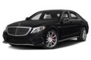 3/4 Front Glamour 2016 Mercedes-Benz S63 AMG