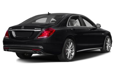 3/4 Rear Glamour  2014 Mercedes-Benz S63 AMG