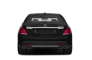 Rear Profile  2017 Mercedes-Benz S63 AMG