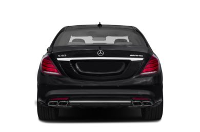 Rear Profile  2014 Mercedes-Benz S63 AMG