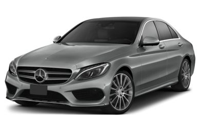 3/4 Front Glamour 2015 Mercedes-Benz C300
