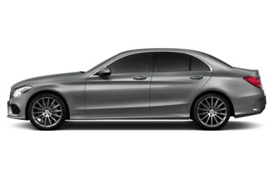 90 Degree Profile 2015 Mercedes-Benz C300