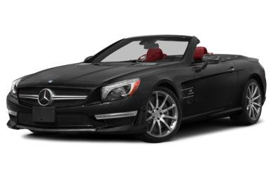 3/4 Front Glamour 2015 Mercedes-Benz SL63 AMG
