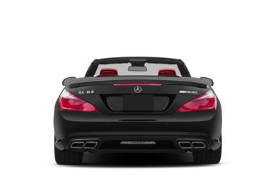 Rear Profile  2015 Mercedes-Benz SL63 AMG