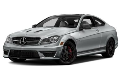 3/4 Front Glamour 2015 Mercedes-Benz C63 AMG