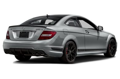 3/4 Rear Glamour  2015 Mercedes-Benz C63 AMG