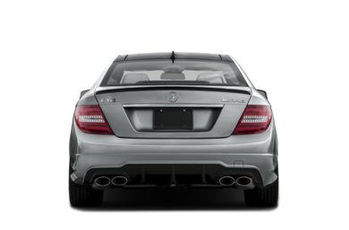 Rear Profile  2015 Mercedes-Benz C63 AMG