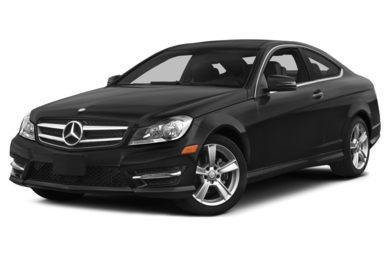 3/4 Front Glamour 2015 Mercedes-Benz C250