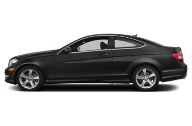 90 Degree Profile 2015 Mercedes-Benz C250