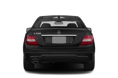 Rear Profile  2015 Mercedes-Benz C250