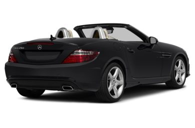 3/4 Rear Glamour  2015 Mercedes-Benz SLK250