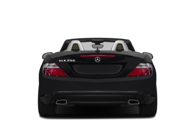 Rear Profile  2015 Mercedes-Benz SLK250