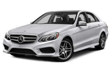 3/4 Front Glamour 2015 Mercedes-Benz E400