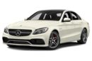 3/4 Front Glamour 2016 Mercedes-Benz C63 AMG
