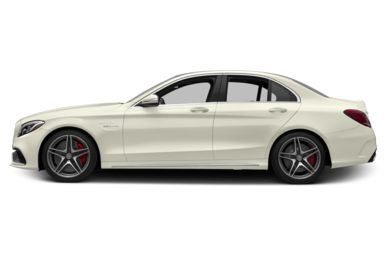 90 Degree Profile 2016 Mercedes-Benz C63 AMG