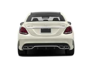 Rear Profile  2016 Mercedes-Benz C63 AMG