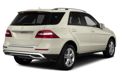 3/4 Rear Glamour  2015 Mercedes-Benz ML350