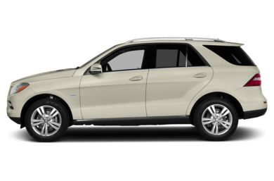 90 Degree Profile 2015 Mercedes-Benz ML350