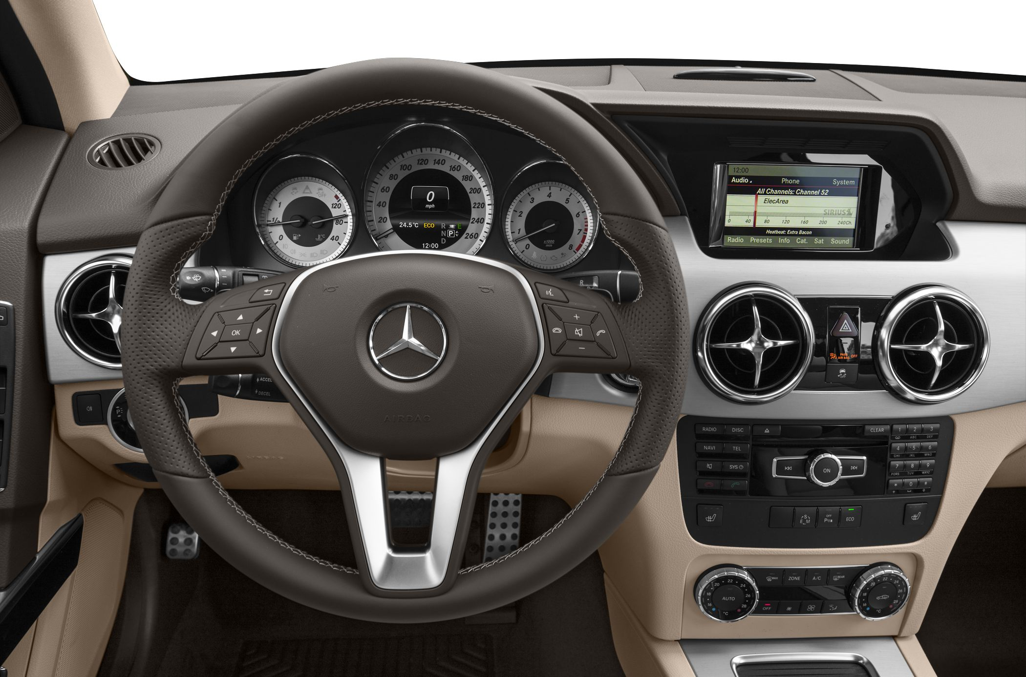 2015 Mercedes-Benz GLK350 Interior