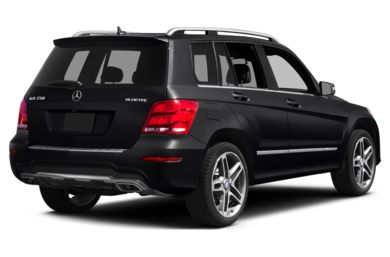 3/4 Rear Glamour  2015 Mercedes-Benz GLK250 BlueTEC