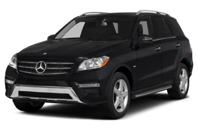3/4 Front Glamour 2015 Mercedes-Benz ML400