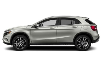 90 Degree Profile 2015 Mercedes-Benz GLA250