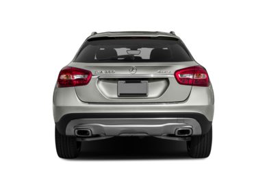 Rear Profile  2017 Mercedes-Benz GLA250