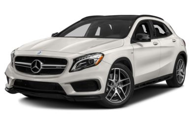 3/4 Front Glamour 2015 Mercedes-Benz GLA45 AMG