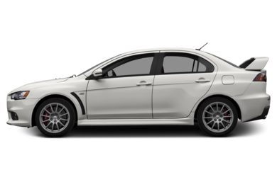 90 Degree Profile 2015 Mitsubishi Lancer Evolution