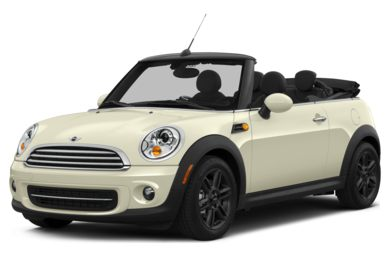 3/4 Front Glamour 2015 MINI Convertible