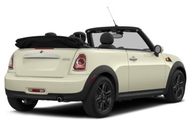 3/4 Rear Glamour  2015 MINI Convertible