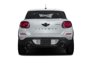 Rear Profile  2016 MINI Paceman