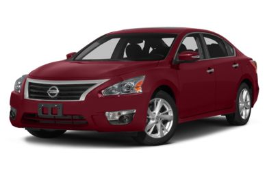 3/4 Front Glamour 2015 Nissan Altima