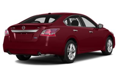 3/4 Rear Glamour  2015 Nissan Altima