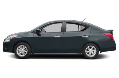 90 Degree Profile 2015 Nissan Versa