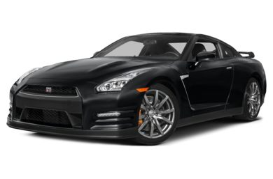 3/4 Front Glamour 2015 Nissan GT-R