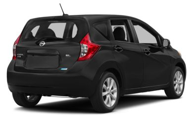 3/4 Rear Glamour  2015 Nissan Versa Note
