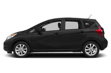 90 Degree Profile 2015 Nissan Versa Note