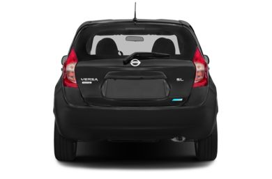 Rear Profile  2015 Nissan Versa Note