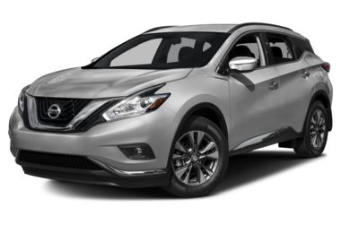 3/4 Front Glamour 2017 Nissan Murano