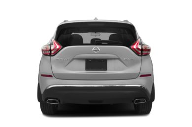 Rear Profile  2017 Nissan Murano