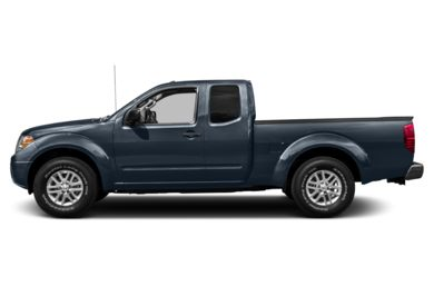 90 Degree Profile 2015 Nissan Frontier