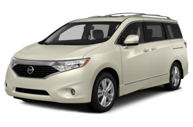 3/4 Front Glamour 2015 Nissan Quest