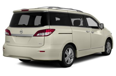 3/4 Rear Glamour  2015 Nissan Quest