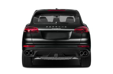 Rear Profile  2017 Porsche Cayenne