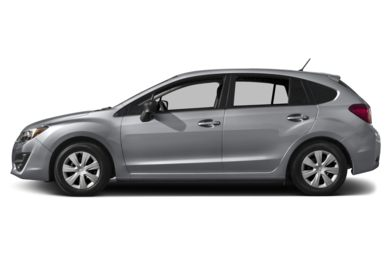 90 Degree Profile 2015 Subaru Impreza