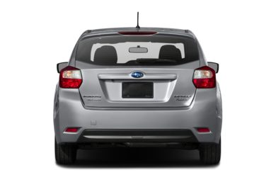 Rear Profile  2015 Subaru Impreza