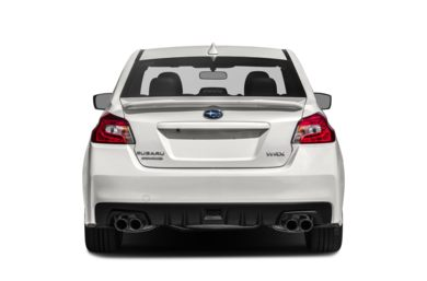 Rear Profile  2015 Subaru WRX