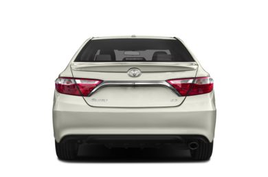Rear Profile  2015 Toyota Camry